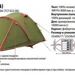 Палатка Tramp Lite Camp 4 в Алуште